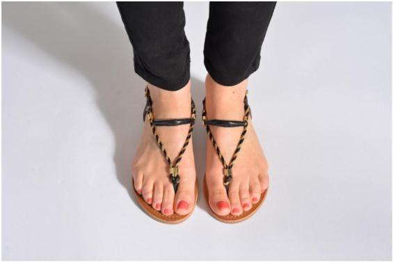 Sandales et nu-pieds Baryton Les Tropéziennes par M Belarbi vue portées chaussures