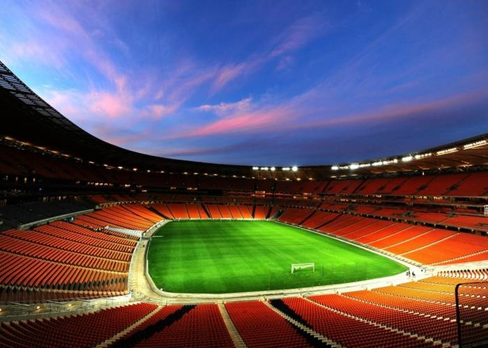 Soccer City - Soweto, Johannesburg  Hosted the opening and final of the 2010 Fifa World Cup. (90 000 Capacity)