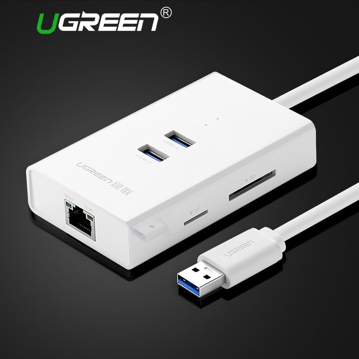 ==> [Free Shipping] Buy Best Ugreen High Speed 2 Ports USB 3.0 HUB with TF/SD Card Reader to RJ45 Gigabit Ethernet Lan Wired Network Adapter for Window Mac Online with LOWEST Price | 32672274956