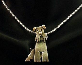 Sterling Silver Labrador Ring Buddy by JYLbyPeekaliu on Etsy