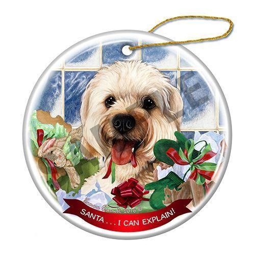 Cavapoo Howliday Dog Christmas Ornament #DogChristmas