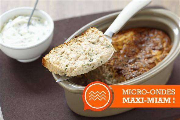 Micro-ondes, maxi-miam : le pain de poisson