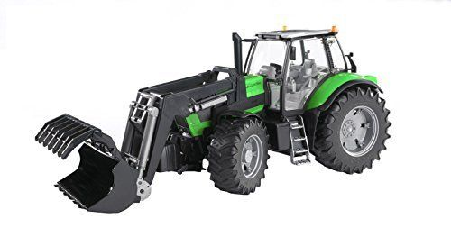 Bruder – 3081 – Véhicule Miniature – Tracteur Deutz Agrotron X720 avec Fourche: Descriptif Produit: Tracteur deutz agrotron x720 avec poids…