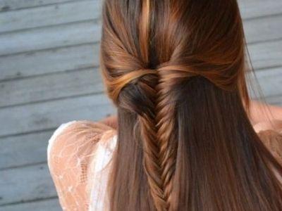 7 Video Tutorials on DIY Highlights ...Fish Tail, Hairstyles, Hair Colors, Half Up, Long Hair, Beautiful, Fishtail Braids, Hair Style, Brown Hair