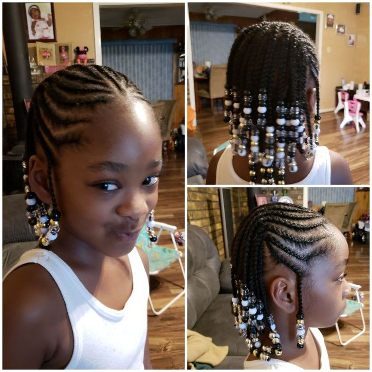 Natural Hair Braids For Kids With Short Hair