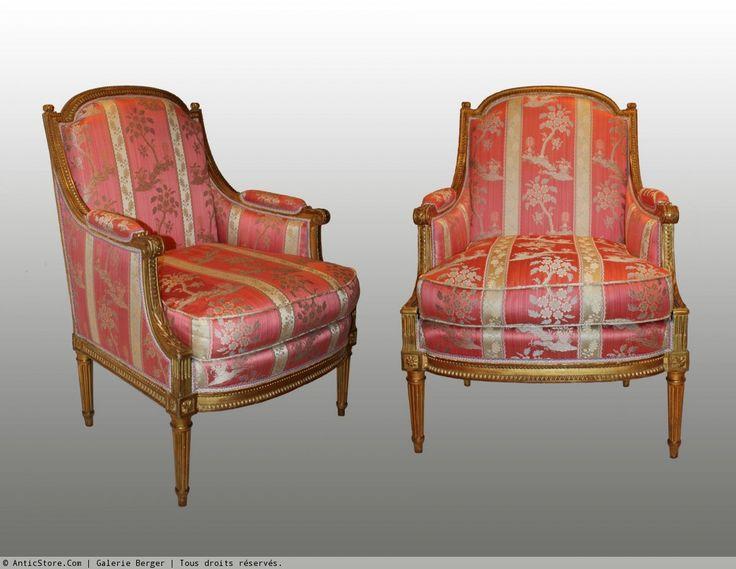 Petit mobilier en bois dor par marc gautron fauteuil pinterest louis x - Antiquaires en ligne ...