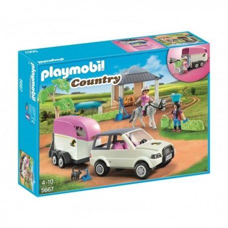 Witajcie w Poniedziałek:)    Kolejny zestaw z serii Playmobil Country dla dzieci od lat 4.    Z pewnością sprawi radość wszystkim miłośnikom koni, które czasem transportować na zawody czy specjalny wybieg gdzie będzie go trenować.     W transporcie pomocy będzie samochód z przyczepą dla konia.    Koń nie jest różowy:)    http://www.niczchin.pl/playmobil-country/3698-playmobil-5667-stajnia-z-przewozem-dla-konia.html    #playmobil #country #konie #różowy #zabawki #niczchin #kraków