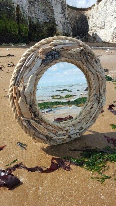 Driftwood mirror #driftwood #craft