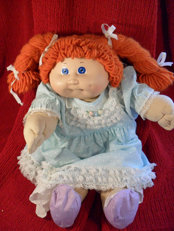 I Had This Exact Cabbage Patch Kid Her Name Is Sarah