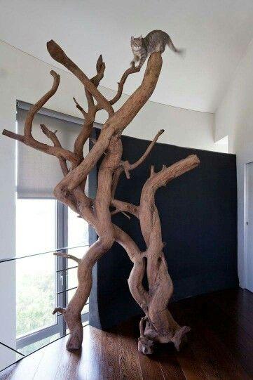 Eco-friendly natural cat tree