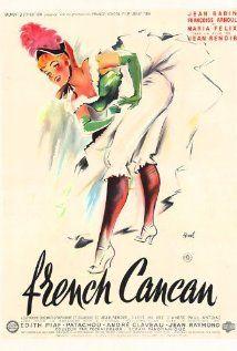 Film. TV. Jean Renoir Fransk Cancan (1954) 151215