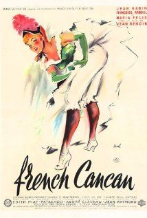 Film. TV. Jean Renoir Fransk Cancan (1954) 151215