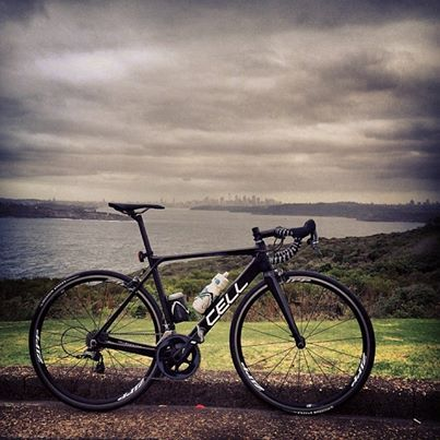 Ominous sky over #cityofsydney Who's out battling headwinds? #aeroisaffordable #CellOMEO #northhead