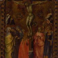 Lorenzo Monaco, Crocifissione e santi, 1400-1410