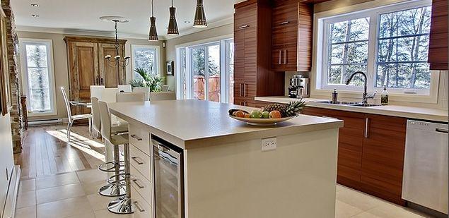 cuisine 2 tons armoires de cuisine acajou africain lot en thermoplastique lustr comptoir en. Black Bedroom Furniture Sets. Home Design Ideas