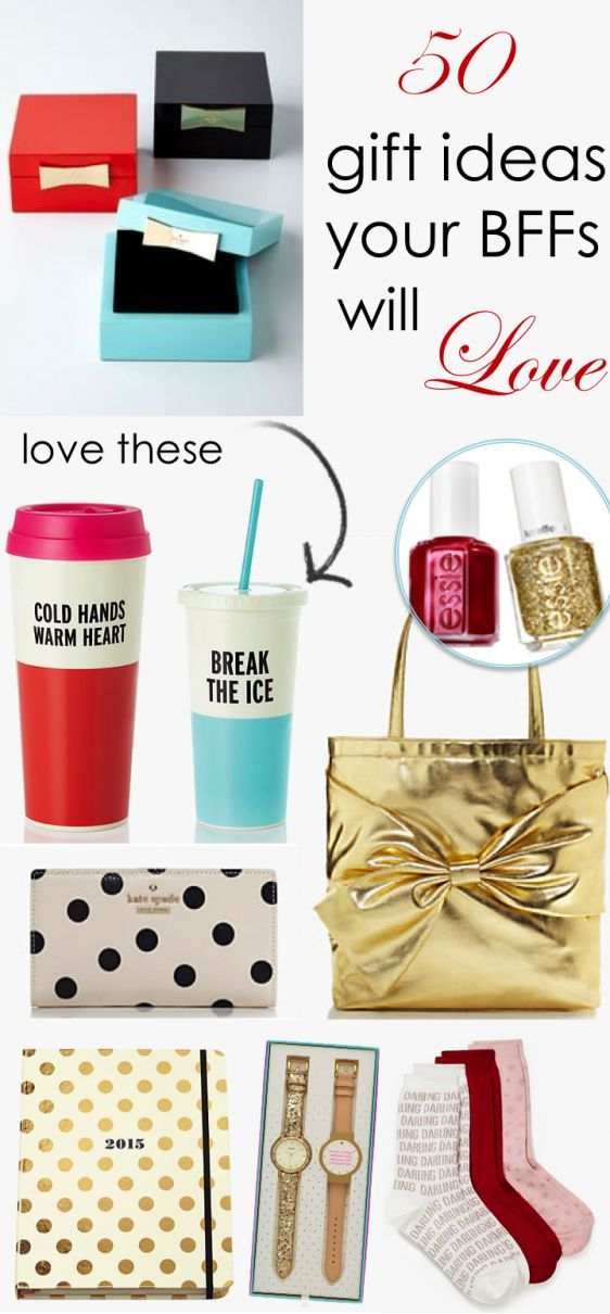 50 Gift Ideas Your BFFs Will Love http://www.theperfectpalette.com/2014/11/its-that-time-of-year-again-yall-yep.html