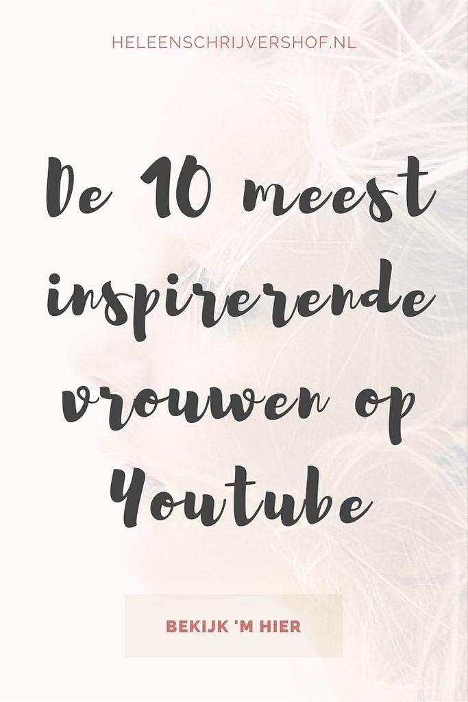 De 10 meest inspirerende vrouwen op Youtube
