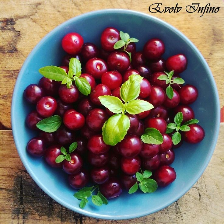 Cherries are packed with antioxidants.
