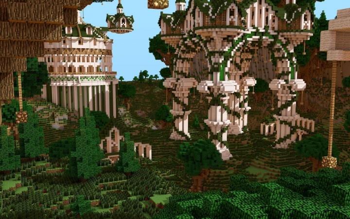 Greek Architecture Minecraft minecraft greek temple | de new minecraftia | pinterest