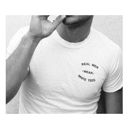 white t-shirt . #white #tshirt tee
