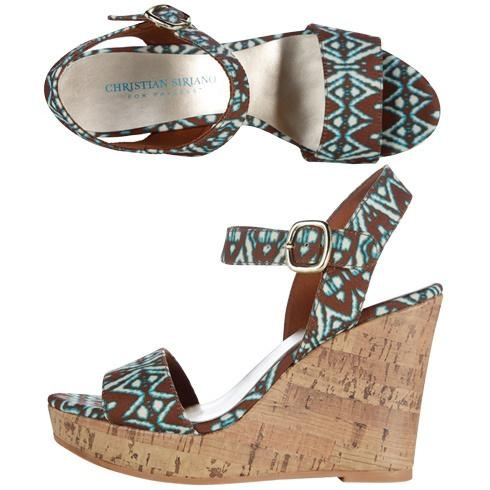 Payless Christian Siriano #shoes #wedge #sandals $12 (reg 29)