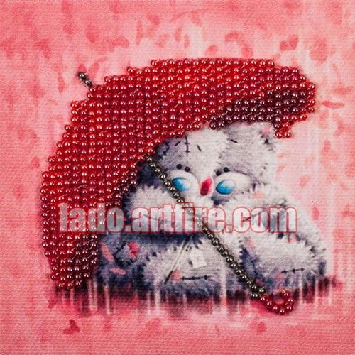 This kit is excellent for beginners, who are not familiar with bead embroidery and want to try this amazing art.  Bead embroidery is easy to make. This is relaxing and very aesthetic hobby. You will g