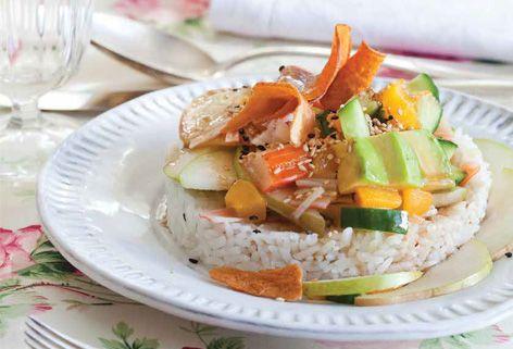 Sushi Salad - Kosher Scoop - Kosher Scoop