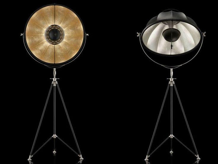 Lámpara de pie ajustable con luz indirecta STUDIO 76 Colección STUDIO 1907 by Venetia Studium