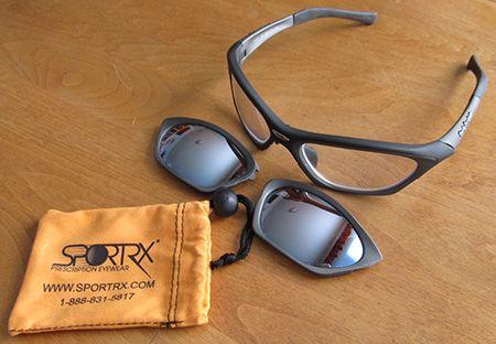 Clear prescription lenses for Rudy Project glasses
