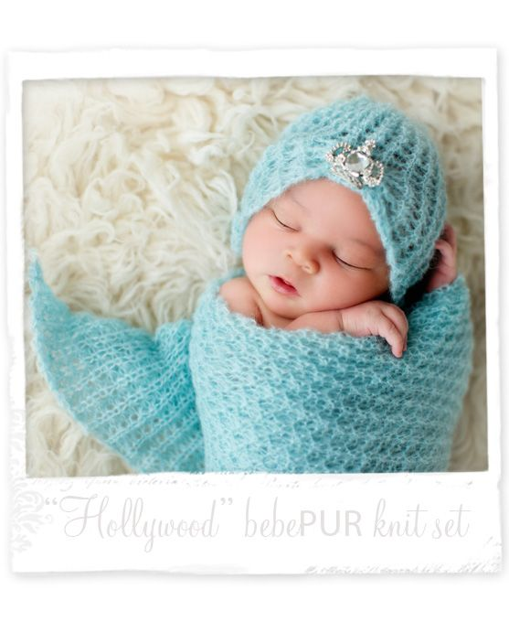 Bebe Pur Hollywood  Look Out Hollywood! Gorgeous newborn photography prop.  love the fabric and the rug.  get it here  www.designrevolutiononline.com