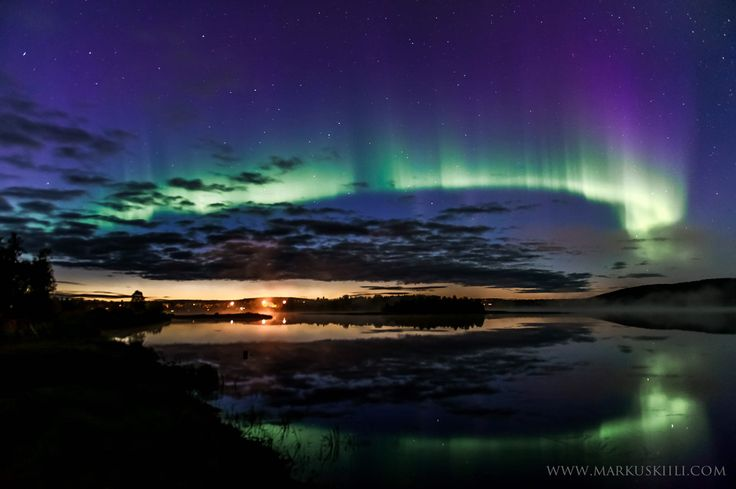 Aurora Arc at Äkäslompolo