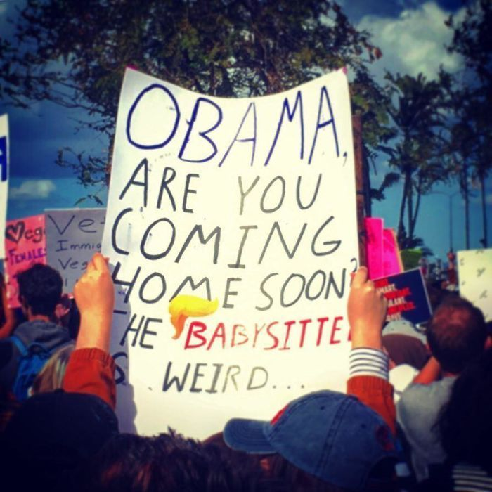 70 Of The Best Signs From The 2018 Women's March…