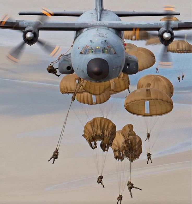 That's about right... good form, bad form, swinging under the canopy, exiting the C-130 : Airborne School experience