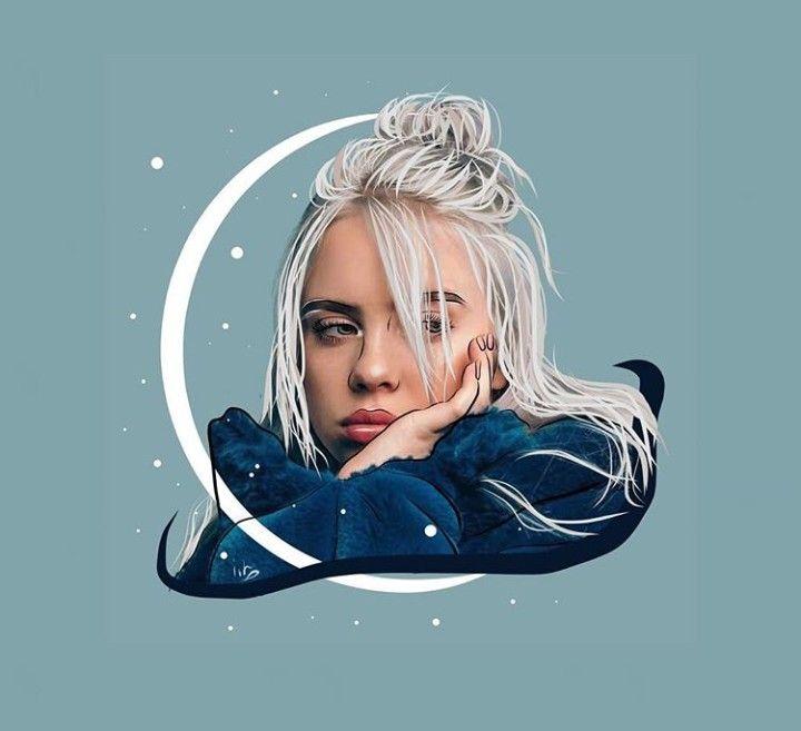 Pin On Billie Eilish Art