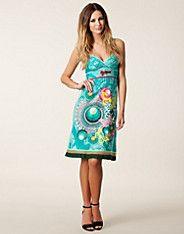 Caroly Dress - Desigual - Turkoois - Doordeweekse jurken - Kleding - NELLY.COM