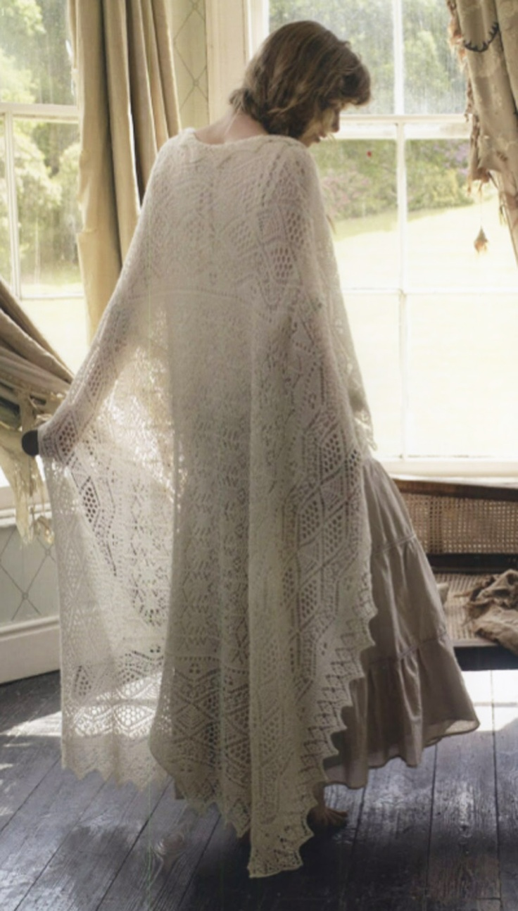 20 best Fabulous Knitted Lace! images on Pinterest | Knit scarves ...