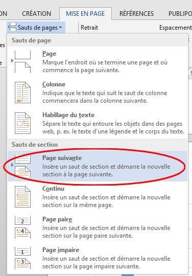 Alterner pages en portrait et en paysage dans un document Word - Fiche pratique Word, Informatique & Bureautique