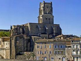 Pont Saint Esprit - l'église paroissiale Saint Saturnin