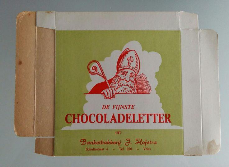 Chocoladeletter doosjes