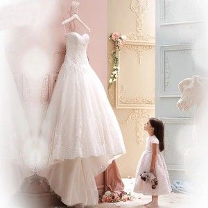 Be open minded and try something out of the box, #WeddingDresses that don't look good on a hanger may give you big surprise when you try on. http://goo.gl/VCHdbe