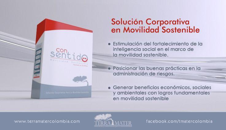 Con Sentido - Movilidad Sostenible. Paquete de gestión de alto impacto en movilidad sostenible desarrollado para empresas de avanzada.