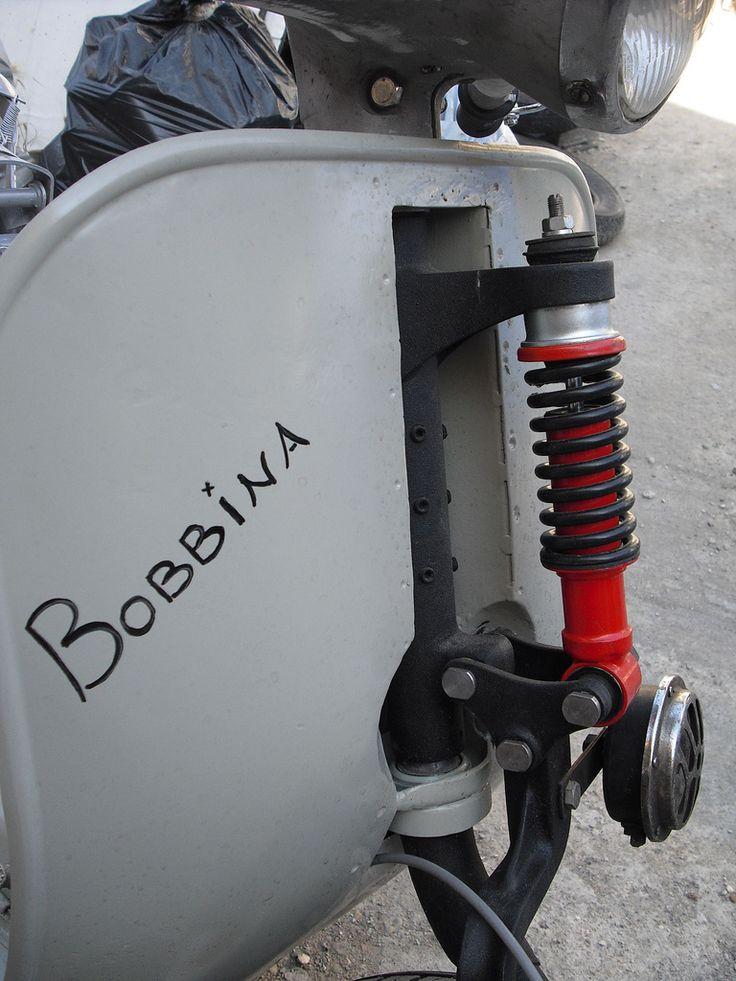 VESPA CUSTOM 2 (jhonnyflh) Tags: vespa custom bobber kolorshok