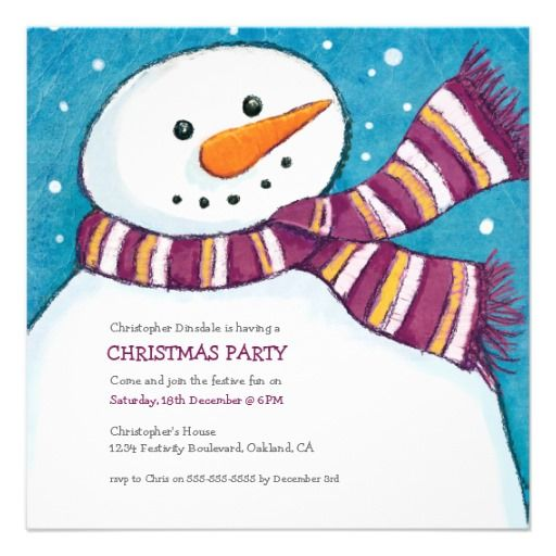 7 best images about Christmas Party – Kids Christmas Party Invitations