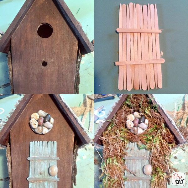 How to make a fairy garden that is easy and inexpensive for Cheap things to build
