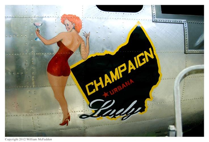 Champaign lady