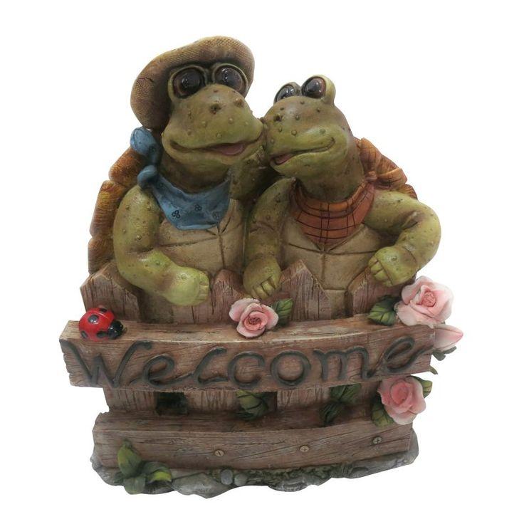 Alpine Turtle Decoration - LWA102
