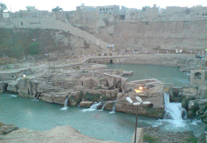 Shooshtar Waterfall