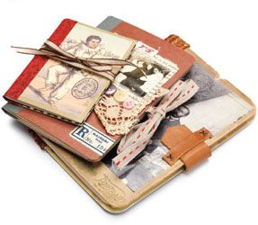 4 free articles on handmade books: learn how to make a book using mixed-media techniques