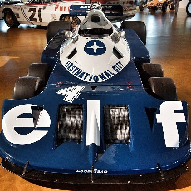 mcconnico:  1976 Tyrrell P34 Formula One car at Canepa. #racing
