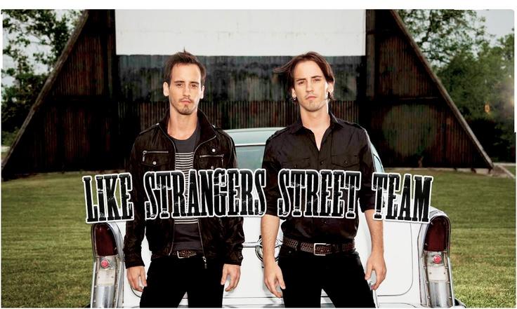 like strangers street team